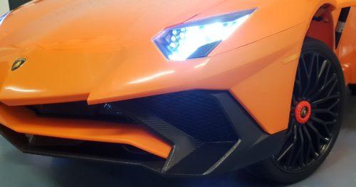 Oranje Roadster SV speelgoedauto