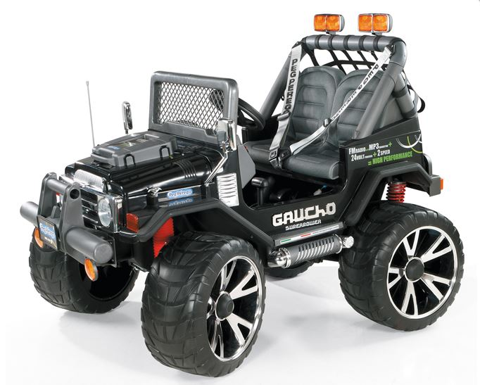 Gaucho Superpower 24 volt kinderjeep Peg Perego
