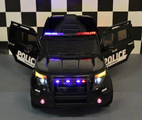 Elektrische kinderjeep Police 12V 2.4G rc