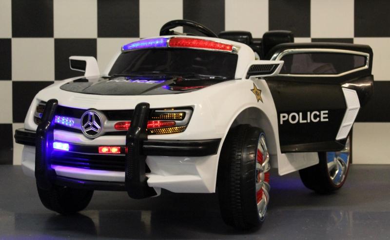 Elektrische speelgoedauto  Politie 12V met 2.4G afstandbediening