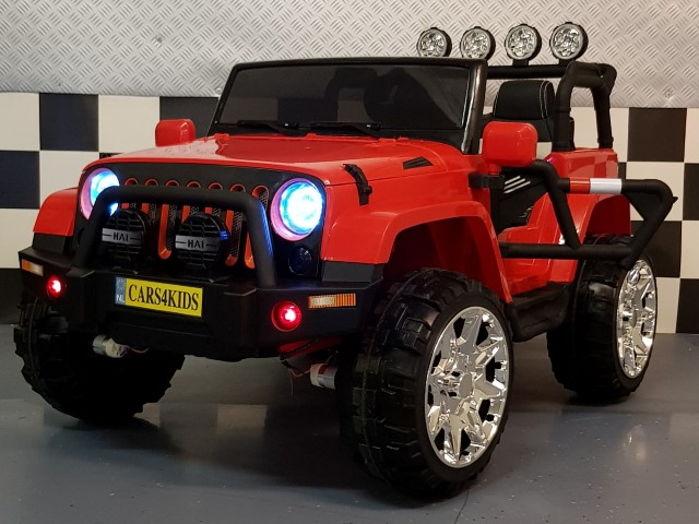 Elektrische 2 persoons Power jeep 4WD 2×12 volt 2.4G RC