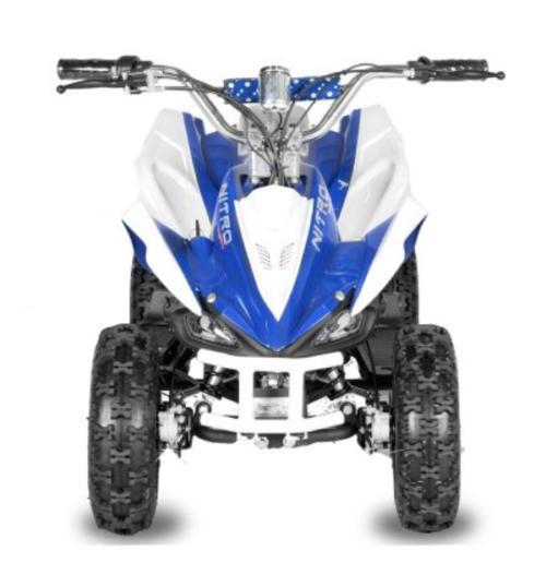 Elektrische kinderquad 36 volt Nitro Python blauw