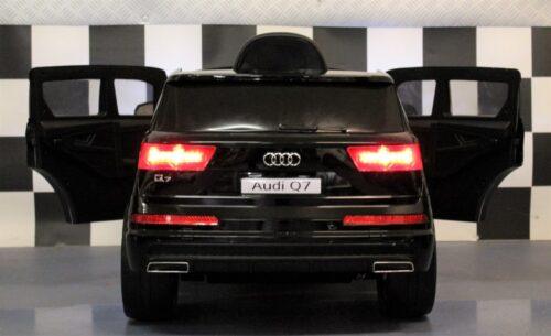 Audi Q7 speelgoedauto 12V accu 2.4G afstandbediening zwart