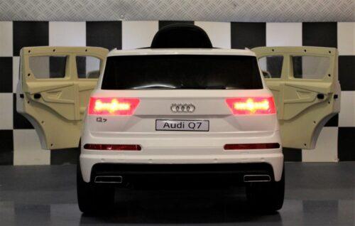 Audi Q7 speelgoedauto wit 12V 2.4G