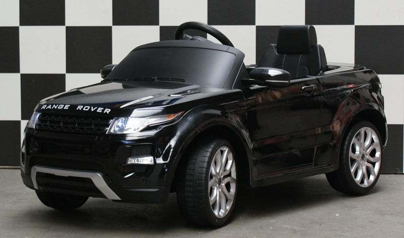 Range Rover accu auto kind 12V RC zwart