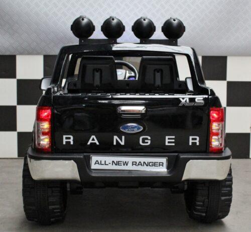 Ford accu speelgoedjeep 12v afstandbediening zwart metallic