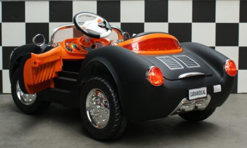 Elektrische kinderauto 356 zwart 2.4g rc