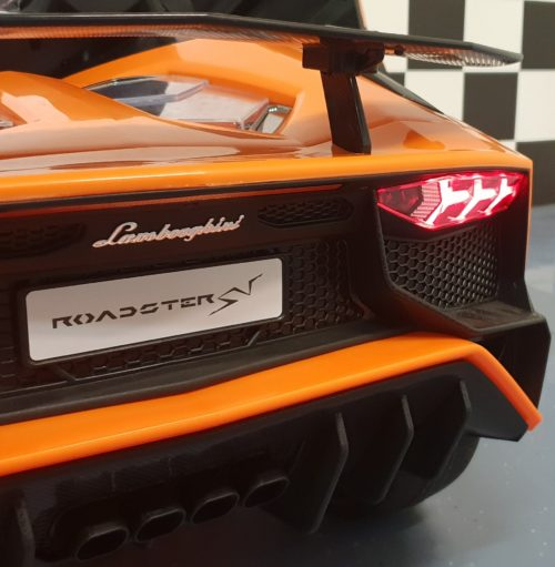 Kinder accu auto SV Lamborghini oranje