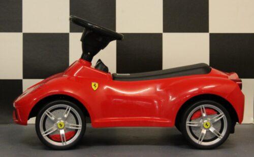 Loopwagen Ferrari rood