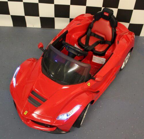 Speelgoedauto LaFerrari 12V rood 2.4G RC bediening