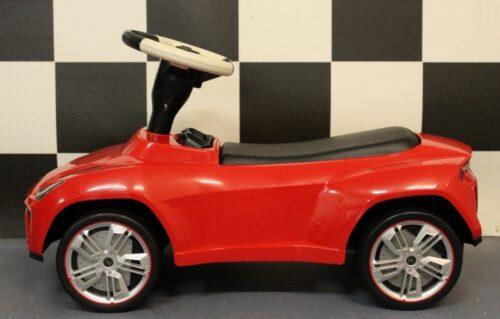 Loopauto Lamborghini Urus kunststof rood