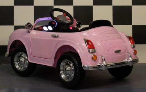 roze accu auto met rc
