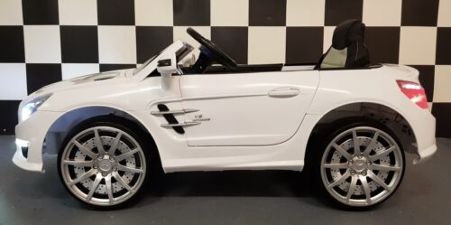 SL63 kinderauto wit 12V 2.4G RC