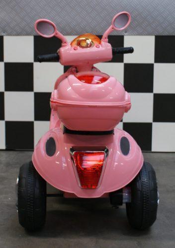 Elektrische speelgoed kinderscooter roze