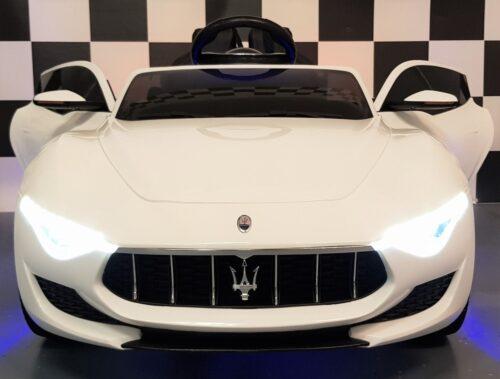 Maserati kinderauto 12 volt 2.4G wit