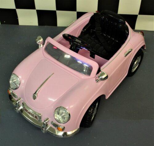 speelgoedauto roze 12volt mini speedster