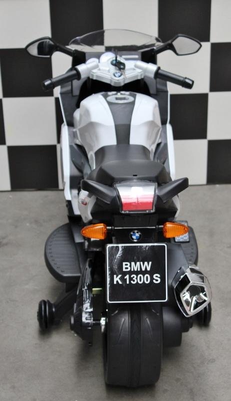 BMW K1300 S accu speelgoedmotor 12 volt wit