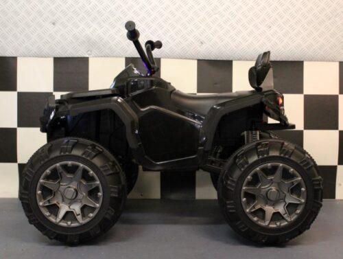 12 volt accu speelgoedquad zwart