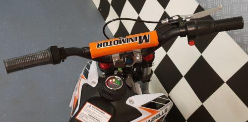 Stuur oranje crossmotor 36v