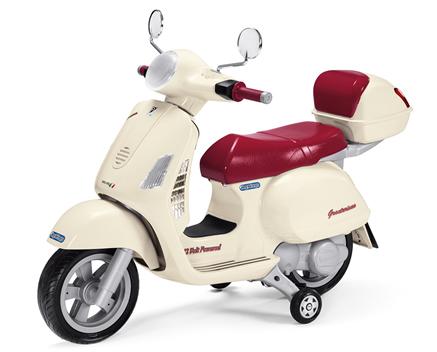 Vespa kinder accu scooter 12V Peg-Perego