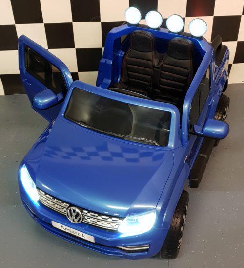 Amarok elektrische kinder accu auto 2.4G Rc bediening 2x12V accu
