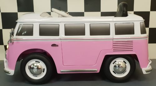 Kinderbus VW transporter T1 roze