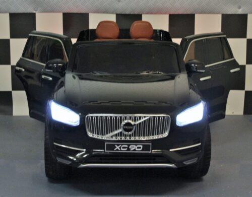 Kinderauto Volvo XC90 metallic zwart 12 volt