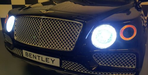 Metallic zwarte Bentley accu auto