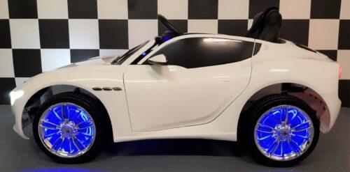 12 volt Maserati kinder accu auto 2.4G RC bediening wit