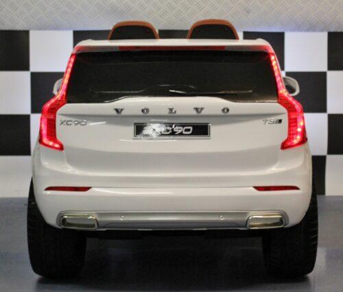 Volvo Kinderauto wit 2.4G RC bediening 12 volt accu
