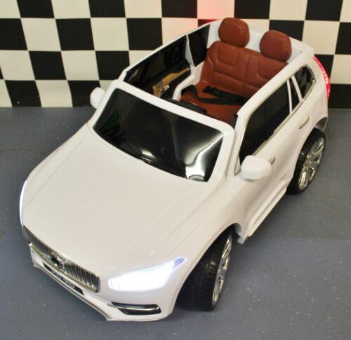 Accu speelgoedauto Volvo XC90 wit